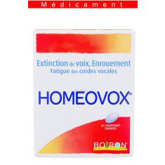 HOMEOVOX, comprimé enrobé – 60 comprimés