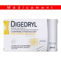 DIGEDRYL, comprimé effervescent – 15 comprimés
