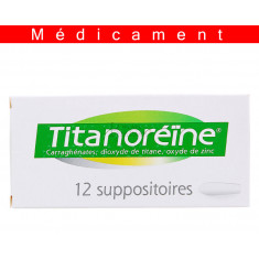 TITANOREINE, suppositoire – 12 suppositoires
