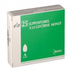 SUPPOSITOIRE A LA GLYCERINE MONOT ADULTES, suppositoire en vrac – 25 suppositoires