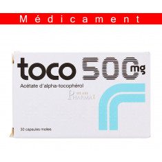 TOCO 500 mg, capsule molle – 30 capsules