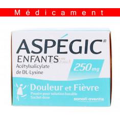 ASPEGIC ENFANTS 250, poudre pour solution buvable en sachet-dose – 20 sachets