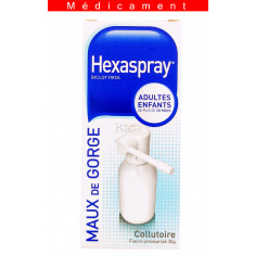 HEXASPRAY, collutoire en flacon pressurisé – 30G