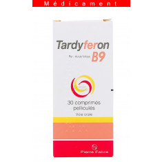 TARDYFERON B9, comprimé pelliculé – 30 comprimés