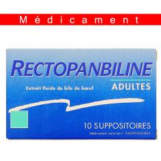 RECTOPANBILINE ADULTES, suppositoire - 10 suppositoires