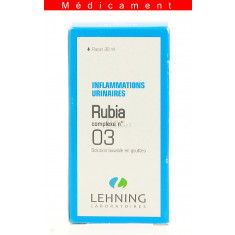 RUBIA COMPLEXE N°3, solution buvable en gouttes  - 30ML