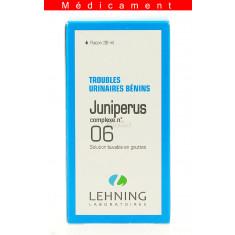 JUNIPERUS COMPLEXE N°6, solution buvable en gouttes  - 30ML