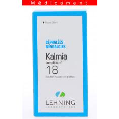 KALMIA COMPLEXE N°18, solution buvable en gouttes  - 30ML