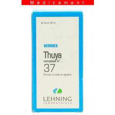 THUYA COMPLEXE N°37, solution buvable en gouttes  - 30ML