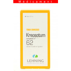 KREOSOTUM COMPLEXE N°62, solution buvable en gouttes  - 30ML