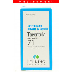 TARENTULA COMPLEXE N°71, solution buvable en gouttes  - 30ML