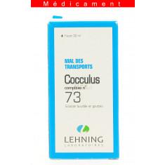COCCULUS COMPLEXE N°73, solution buvable en gouttes  - 30ML