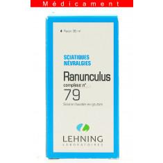 RANUNCULUS COMPLEXE N°79, solution buvable en gouttes  - 30ML