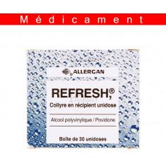 REFRESH, collyre en récipient unidose – 30 unidoses