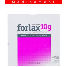 FORLAX 10 g, poudre pour solution buvable en sachet-dose – 20 sachets-dose
