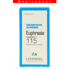 EUPHRASIA COMPLEXE N°115, solution buvable en gouttes  - 30ML