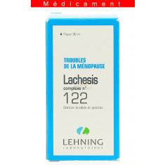 LACHESIS COMPLEXE N°122, solution buvable en gouttes  - 30ML