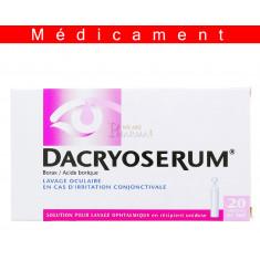 DACRYOSERUM, solution pour lavage ophtalmique en récipient unidose