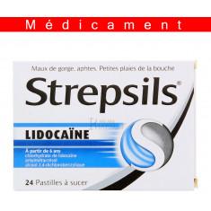 STREPSILS LIDOCAINE, pastille – 24 pastilles