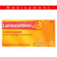 LAROSCORBINE SANS SUCRE 1 g, comprimé effervescent – 30 comprimés