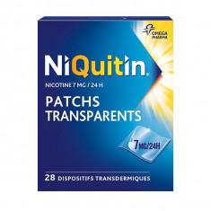 NIQUITIN 7 mg/24 heures Patchs, dispositif transdermique – 28 sachets
