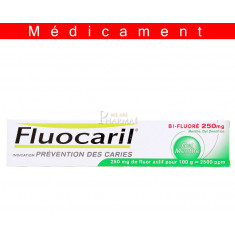 FLUOCARIL BI FLUORE 250 mg MENTHE, gel dentifrice – 75ML