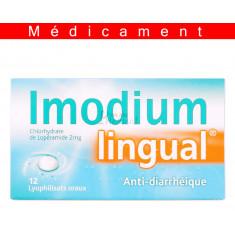 IMODIUMLINGUAL 2 mg, lyophilisat oral – 12 lyophilisats