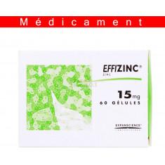 EFFIZINC 15 mg, gélule – 60 gélules