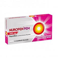 NUROFENFEM 400 mg, comprimé pelliculé – 12 comprimés