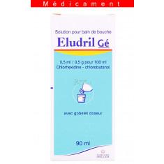 ELUDRIL 0,5 ml/0,5 g pour 100 ml, solution pour bain de bouche – 90ML