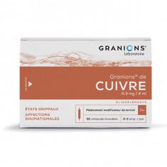 GRANIONS DE CUIVRE 0,3 mg/2 ml, solution buvable – 30 ampoules