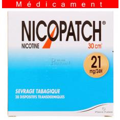 NICOPATCH 21 mg/24 h, dispositif transdermique - 28 patchs