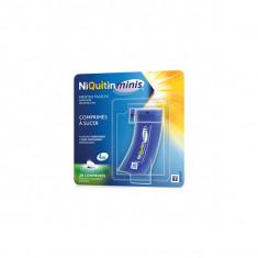 NIQUITINMINIS 4 mg SANS SUCRE, comprimé à sucer édulcoré à l'acésulfame potassique – 20 comprimés