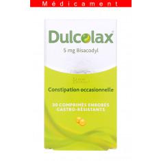 DULCOLAX 5 mg, comprimé enrobé gastro-résistant – 30 comprimés