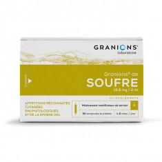 GRANIONS DE SOUFFRE 3,82 mg/2 ml, solution buvable – 30 ampoules