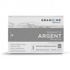 GRANIONS D'ARGENT 0,64 mg/2 ml, solution buvable