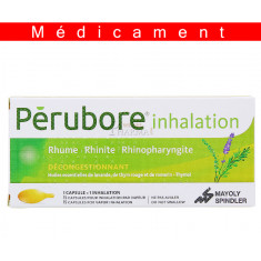 PERUBORE INHALATION, capsule pour inhalation par vapeur - 15 capsules