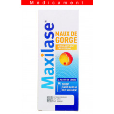 MAXILASE MAUX DE GORGE ALPHA-AMYLASE 200 U.CEIP/ml, sirop – 200ML