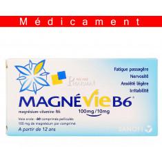 MAGNEVIE B6 100 mg/10 mg, comprimé pelliculé – 60 comprimés