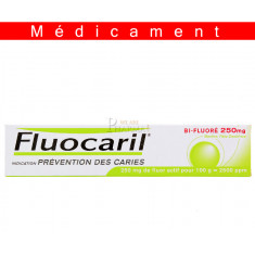 FLUOCARIL BIFLUORE 250 mg MENTHE, pâte dentifrice – 75ML