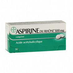 ASPIRINE DU RHÔNE 500 mg, comprimé – 50 comprimés