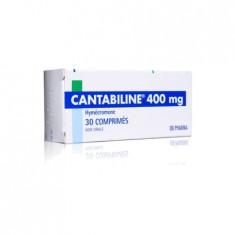 CANTABILINE 400 mg, comprimé