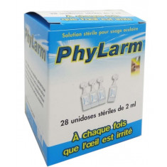 PHYLARM Solution Oculaire 28 unidoses